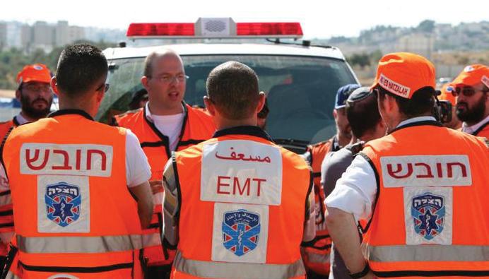 <b>United Hatzalah's First Responders</b><br>